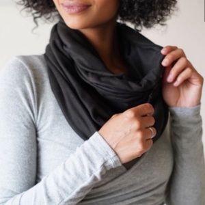 Beyond Yoga zip pocket infinity scarf